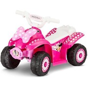 Disney Minnie 6V Battery Powered Ride-On Quad Pink