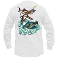 Salt Life | All Men's - Cruzin' Cobia Long Sleeve Tee
