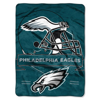 Philadelphia Eagles NFL Royal Plush Raschel (Prestige Series)