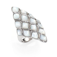 Stephen Webster - Mother-of-Pearl and Sterling Silver Ring