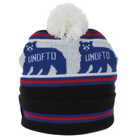 Undefeated Denver Pom Beanie - Black at Urban Industry