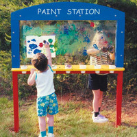 Planet Playgrounds Free Standing Fun Paint Station