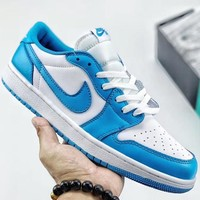 Trendsetter Nike SB x Air Jordan 1 Low Women Men Fashion Casual Old Skool Shoes