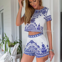Porcelain Princess Top