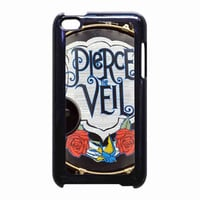 Pierce The Veil Pedal Drum for iPod Touch 4th case *RA*
