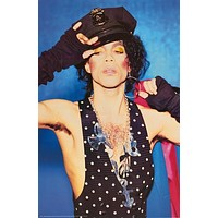 Prince Funk Police Portrait 1988 Poster 23x35