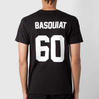LES (ART)ISTS Black Basquiat 60 T-Shirt | HYPEBEAST Store. Shop Online for Men's Fashion, Streetwear, Sneakers, Accessories