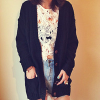 Up Front Cardigan