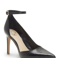 Vince Camuto Marbella Leather D'Orsay Ankle Strap Pumps | Dillard's