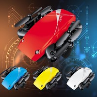 HIINST S9HW Mini Drone With Camera S9 No Camera RC Helicopter Foldable Drones Altitude Hold RC Quadcopter WiFi FPV Pocket Drone