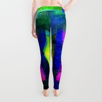 FUCH SIA Leggings by Chrisb Marquez | Society6