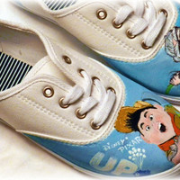 Hand painted shoes- Disney Pixar Up