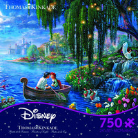 Ceaco Thomas Kinkade Disney The Little Mermaid 2 - 750 Piece Puzzle
