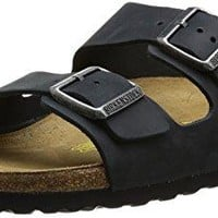Birkenstock Mens Arizona Waxy Leather Sandals