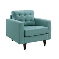Fabris Armchair in Light Blue