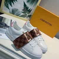 2020 New Louis Vuitton LV Woman Popular Cow Leather Monogram Empriente low-top boots Casual Sneaker   sport shoes best quality
