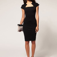 Cap Sleeve Casual Bodycon Dress