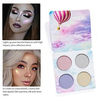 Multi Color Highlighter Palette Makeup Powder