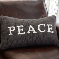 PEACE SWEATER PILLOW COVER