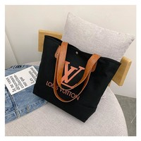 LOUIS VUITTON Women Shopping Bag Handbag Tote Shoulder Bag