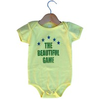 Infant Brazil The Beautiful Game Soccer Onesuit