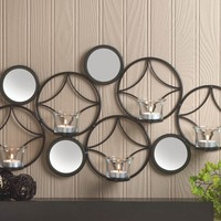 Mid-Century Modern Candle Wall Sconce