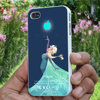 Disney Frozen Elsa Iphone Logo - Print on Hard Plastic, available for iPhone,iPod and Samsung Galaxy. Choose for your device