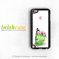 Monster Inc Cute Mike And Boo iPod Touch 4 Case iPod Touch 5 Case