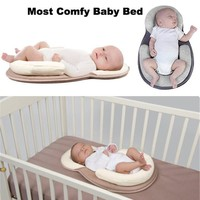 Portable Folding Baby Bed 🚼