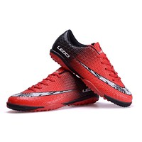 Men Soccer Shoes Sport Football Shoes Kids Boys Indoor Turf Football Boots Soccer Cleats Hombre
