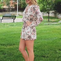 Lovely Gardens Romper