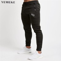 Autumn Gyms Men Joggers Sweatpants Men Joggers Trousers Sporting Clothing The high quality Bodybuilding Pants