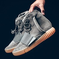 Adidas yeezy Kanye West 750 Boost Glow in the Dark,Boost 750 Light Grey Gum Shoes Snea
