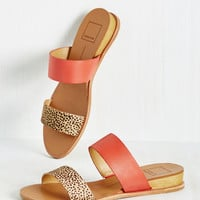 Dolce Vita It's Been a Wild Stride Sandal in Leopard | Mod Retro Vintage Sandals | ModCloth.com
