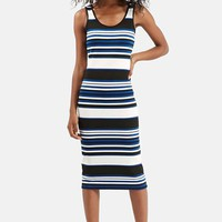 Women's Topshop Stripe Body-Con Dress,