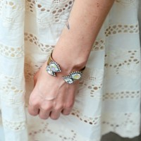 Loren Hope:Small Sarra Cuff In Iridescent