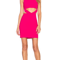 x Naven Twins Lifestyle Dress in Berry