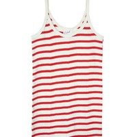 Edith A. Miller Camisole Natural w/ Red