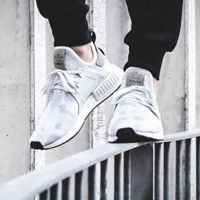 """Adidas"" NMD XR1 Duck Camo Women Men Running Sport Casual Shoes Sneakers Camouflage White"