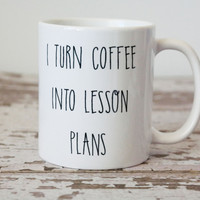 Teacher Coffee Mug, Teacher Gift