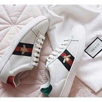 GG men's and women's low-top all-match casual flat sneakers shoes