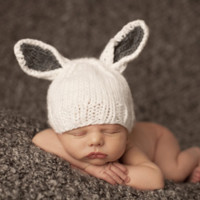 Bunny Newborn Hat | Cool Baby Stuff | Hip and Trendy Kids Hats