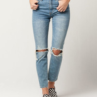 RSQ Womens Ripped Mom Jeans
