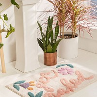 Get Naked Floral Bath Mat | Urban Outfitters