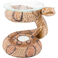 Snake Body Polyresin Oil Warmer