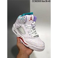 Air Jordan 5 GS AJ5 cheap fashion Mens and womens sports shoes