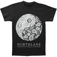 Northlane Men's  Yin Yang T-shirt Black Rockabilia