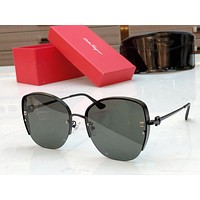 Ferragamo Fashion Woman Summer Sun Shades Eyeglasses Glasses Sunglasses