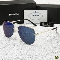 Prada Fashion new polarized couple sun protection leisure glasses eyeglasses 1#