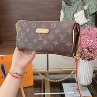 Louis Vuitton LV new printed fashion trend single shoulder messenger bag